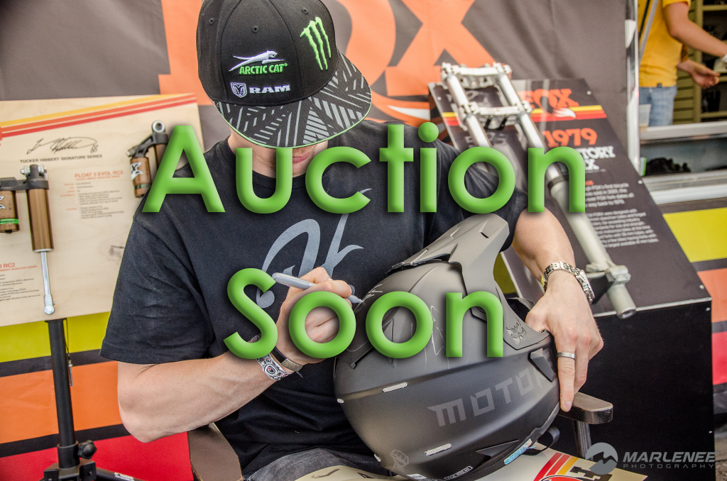FXR Helmet Auction Soon