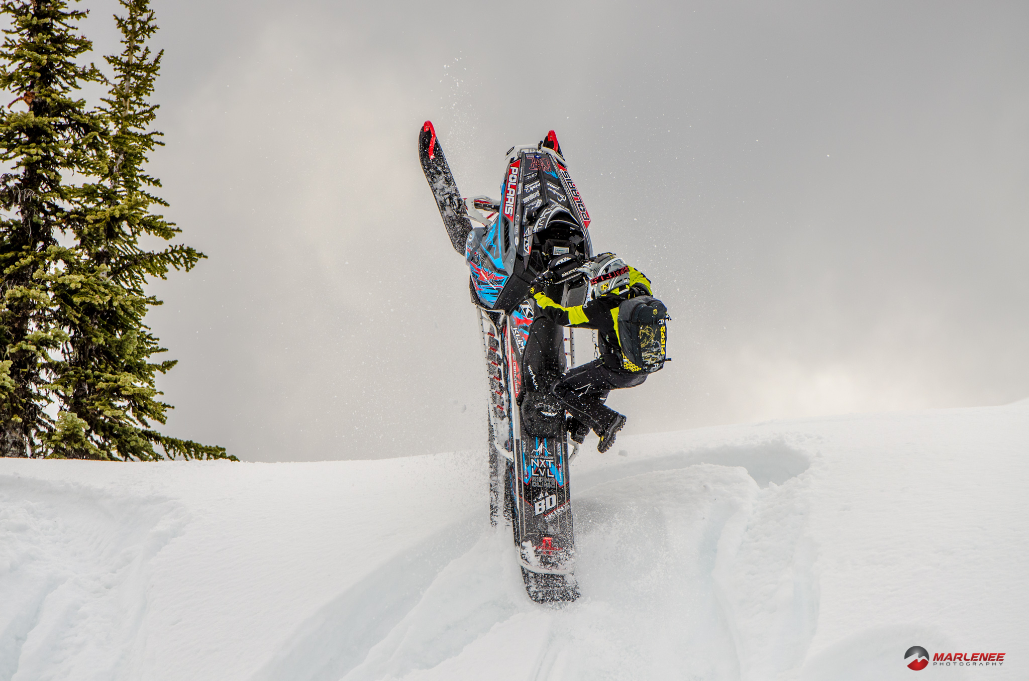 Dan Adams executes a perfect hop-over pirouette in Revelstoke, BC