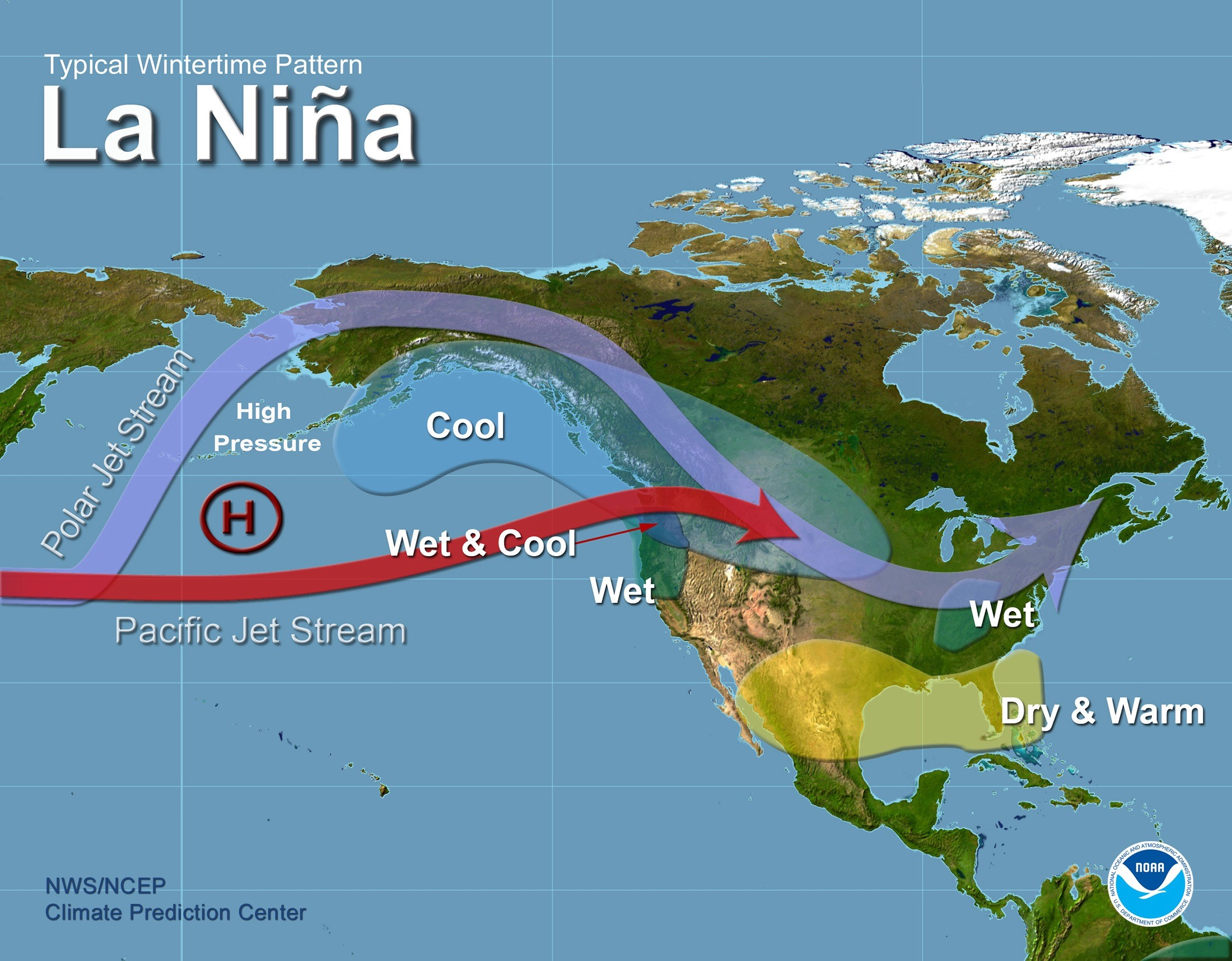 Typical La Niña Winter Setup