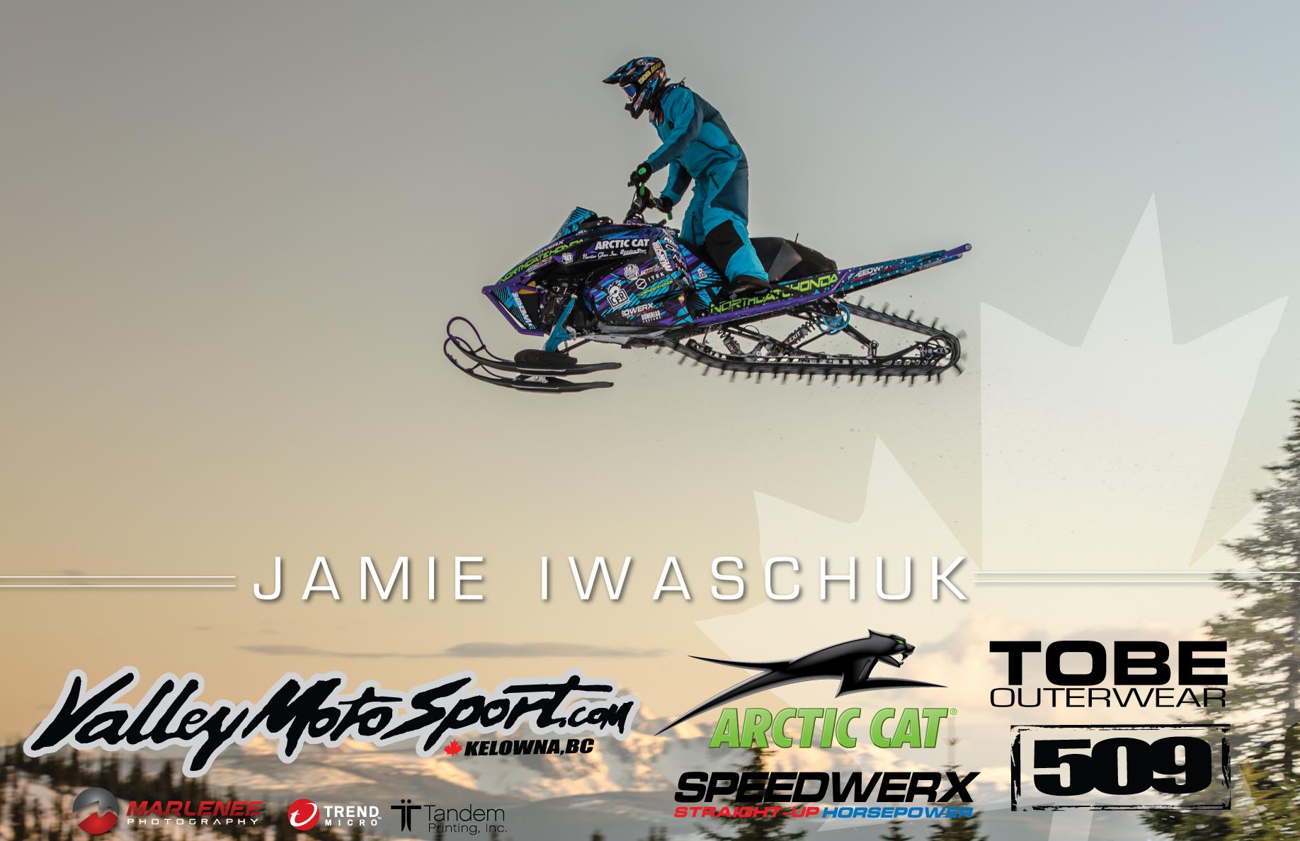Jamie Iwaschuck 2016 Athlete Poster